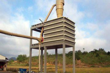 Estrutura Caixa D'água e Silos